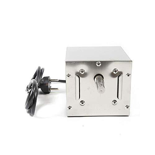 Fetcoi Motore per barbecue da 25 W per spiedini, spiedini, girarrosto e altro (carico massimo: 60 kg)
