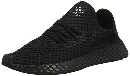 Adidas Unisex-Erwachsene Deerupt Runner J Fitnessschuhe, Schwarz(core black/core black/ftwr white), 40 EU(6.5 UK)