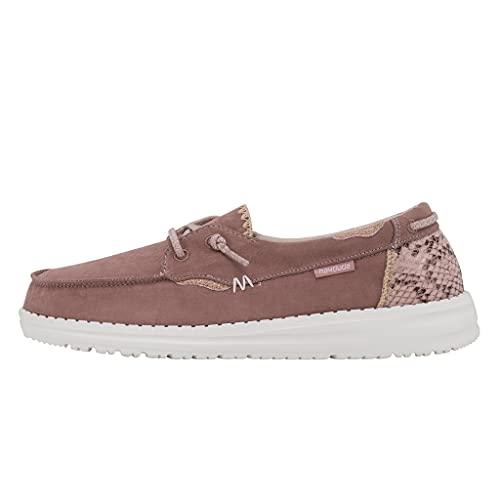 Hey Dude Women's Laila Python Antique Rose Size 6 | Women's Shoes |...