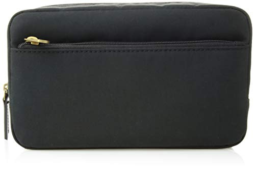 """Relic by Fossil Men's Top Zip Shave Kit, Fabric Black, 9""""L x 3""""W x 5""""H"""