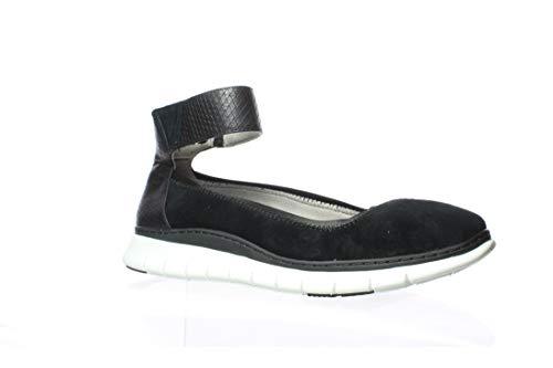 Vionic Womens Fresh Camile Black Casual Flats Size 8
