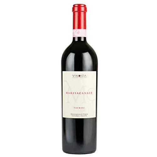 Vino Marziacanale Taurasi DOCG rosso - Vinosia - Cartone da 6 Pezzi