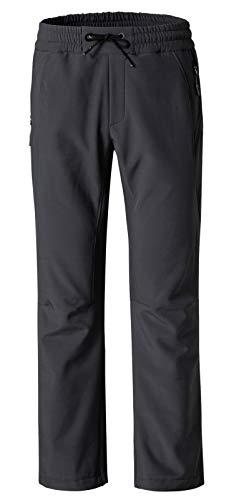 Wantdo Women's Fleece Insulated Outdoor Ski Softshell Windproof Pants Grey US L