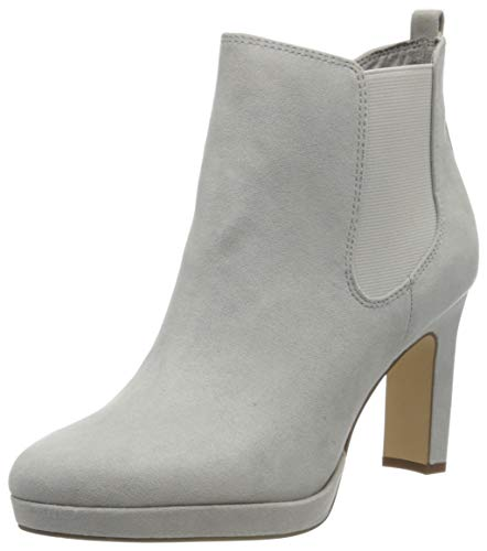 Tamaris Damen 1-1-25300-24 Stiefeletten, Grau (Grey 200), 39 EU
