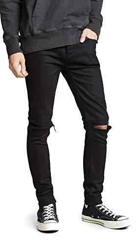 ksubi Men's Black Van Winkle Ace Slice Jeans, Black, 33