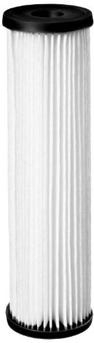 "Pentek S1-20BB Pleated Cellulose Filter Cartridge, 20"" x 4-1/2"", 20 Micron"