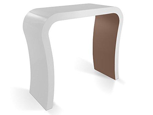 Zespoke Design Haute Brillance de Mat Concepteur Couloir Consoles de Différentes Couleurs
