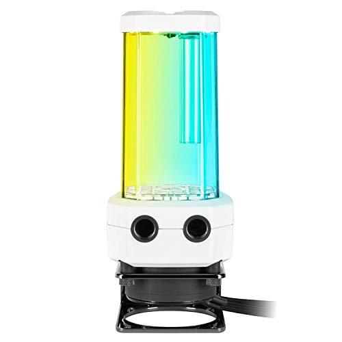 CORSAIR XD5 RGB Pumpen/Ausgleichsbehälter-Kombination – Weiß