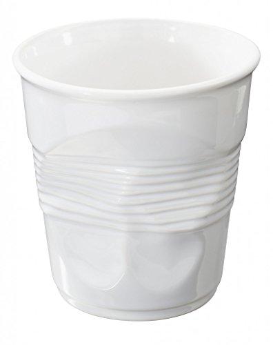 REVOL Pot À Ustensiles Froissé 100 Cl Blanc