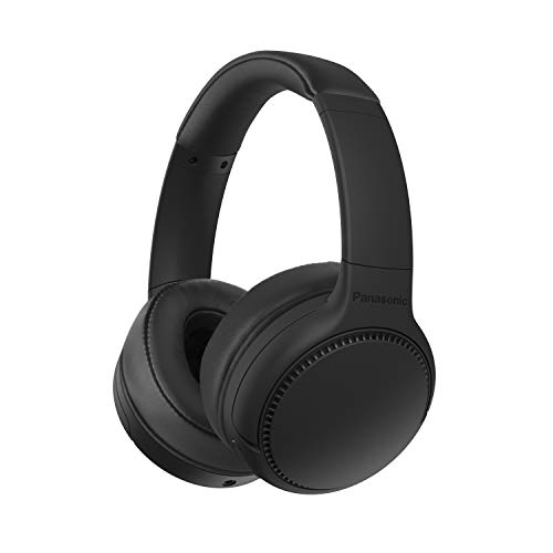 Panasonic RB-M300BE-K Bluetooth Over-Ear Kopfhörer (Sprachsteuerung, XBS - Extra Bass, 1,2 m Kabel, bis 50 h Akkulaufzeit) schwarz