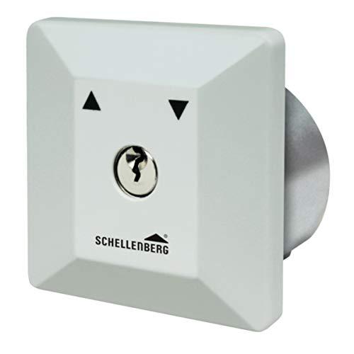 Schellenberg 25102 Schlüsselschalter Unterputz für Garagentor, Torantrieb, elektrische Türöffner