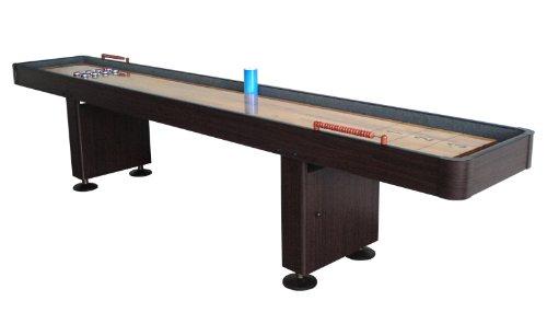 Why Choose SplashNet Challenger 9 ft Shuffleboard Table - Walnut