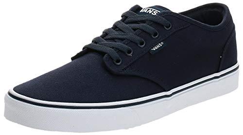 Vans Herren Atwood Canvas Sneaker, Blau (Navy/White 4K1), 45 EU