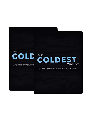 """The Coldest Ice Pack - Gel Ice Packs Reusable Cold Therapy Pack (Best for Pain and Injuries of Knee, Shoulder, Foot, Back, Ankle, Neck, Hip, Wrist) Multiple Sizes (14"""" x 11"""" (Pack of 2))"""