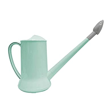 Calunce Tradition Watering Can Long Spout 2 LitreWatering Can/Easy to Water The Flowers Pure Green