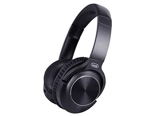 Trevi X-Dj 13E80 Anc Cuffia Dj Hi-Fi con Circuito Anc per Riduzione Rumori Esterni, Nero, Taglia Unica
