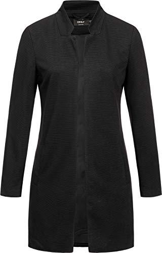 Only onlSANNA Soho L/S Blazer TLR Cappotto, Nero (Black Black), M Donna