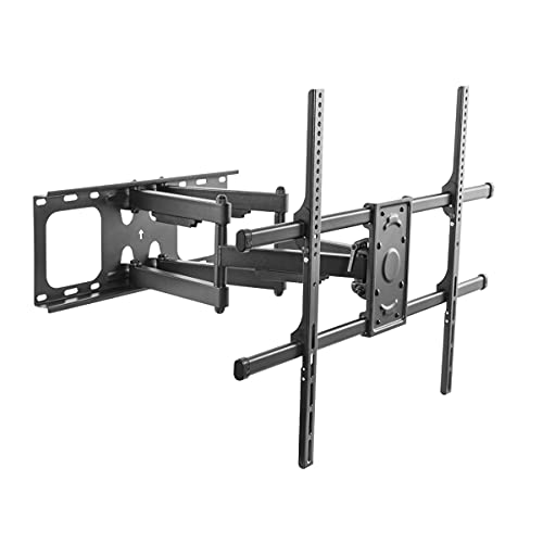 LogiLink BP0151 - Soporte de Pared para televisores de 50 a 90' con gestión de Cables, inclinable/Giratorio, hasta 75 kg