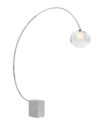Big Sale Zuo 50025 Plasma Floor Lamp, Chrome