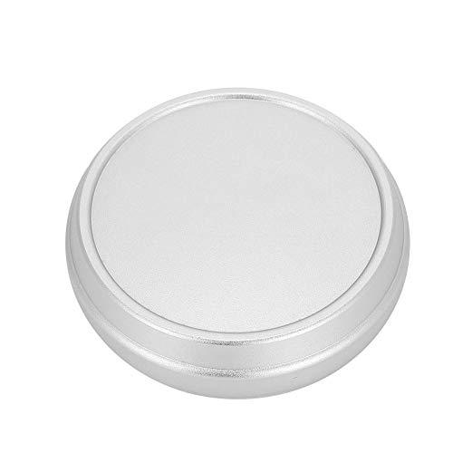 Mugast Tapa del Objetivo Tapa Protectora de Material de Aleación para Fujifilm X100 X100S X100T para Proteger la Lente de Cámara/Videocámara Digital(Plata)