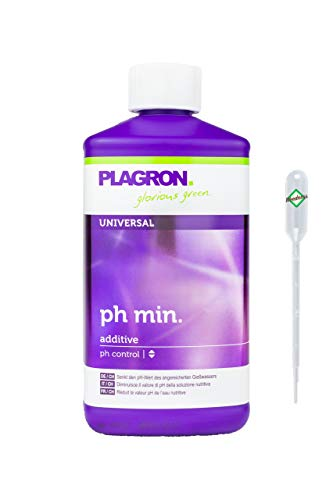 Weedness Plagron pH- Minus 500 ml - ph-senker Grow Anbau Indoor Plagron Dünger ph Minus Flüssig