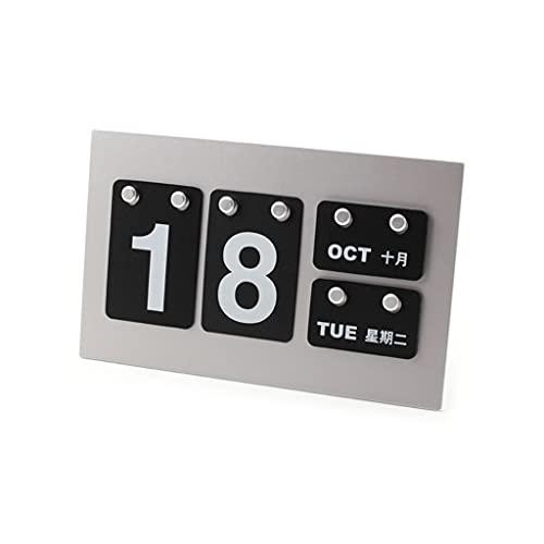 kdjsic Mini calendarios de escritorio de pie para casa, café, proyectos de arte decorativos de escritorio, diseños de doble propósito