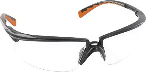 3M SOLUS0SO Gafas, Montura negra/naranja, PC Ocular Incolora