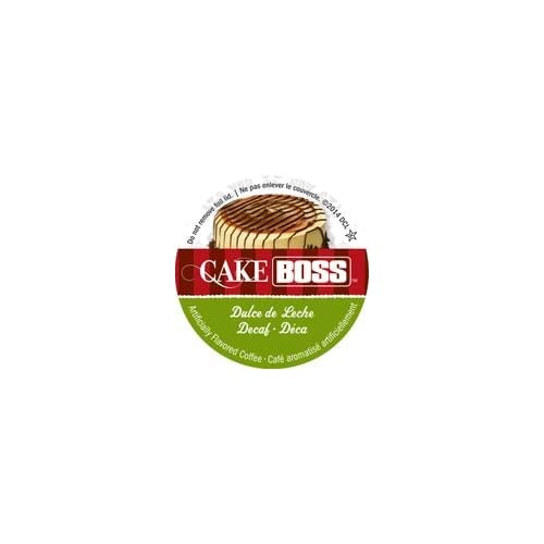 Cake Boss Coffee - DECAF Dulce de Leche - 48 Single Serve K Cups for Keurig