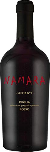 Primitivo-Sangiovese - NAMARA Scelta N°1 - Vigneti del Salento - Farnese Vini - Italien-Apulien - (1x 0,75l) Rotwein-trocken