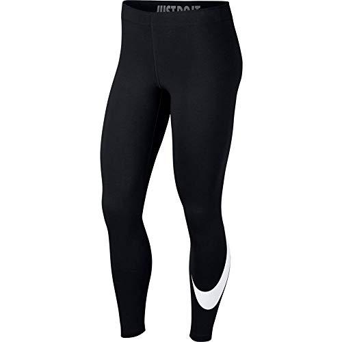 Nike Damen Sportswear Leg-A-See Leggings, Black/White, S