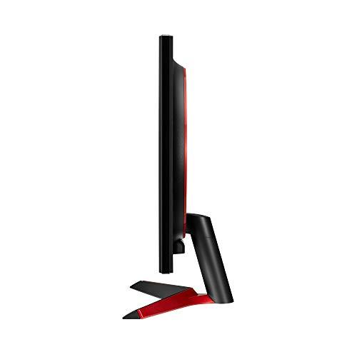 LG UltraGear 24GL600F-B 24 Inch Full HD Gaming Monitor with Radeon FreeSync Technology, 144Hz Refresh Rate, 1ms Response Time (2019) – Black