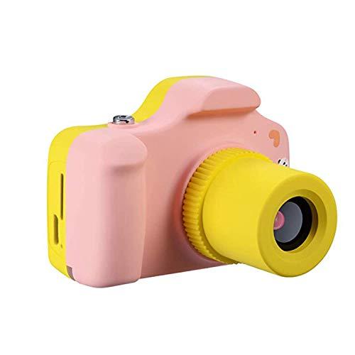 KJRJKD Cámara Digital for niños 1080P FHD Cámara de Video Digital for niños for niños de 3-10 años Regalo de niñas (Color : Pink)
