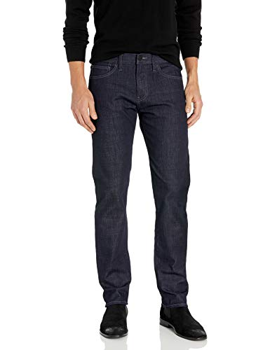 A|X Armani Exchange Men's Straight Fit Denim Jeans, Dark Rinse, 36R
