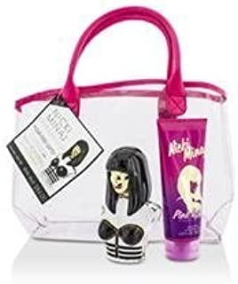 Nicki Minaj Onika Coffret: Eau De Parfum Spray 100ml/3.4oz + Pink Friday Body Lotion 200ml/6.8oz + Bag 2pcs+bag