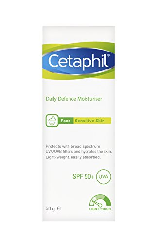 Cetaphil Daily Defence Humectante SPF50+ 50 g