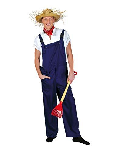 Peto/jardinero pantalones S - XL en llamativos coloures de neón