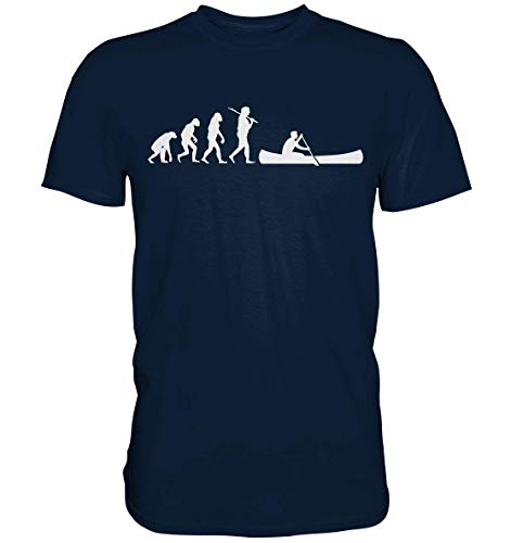 GREG PINE Evo Rudern Kanu Kanadier Kajak Kanute Evolution Motiv T-Shirt