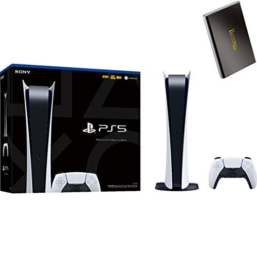PS5 - Sony Playstation 5 Digital Edition Gaming Console + Wireless Controller - x86-64-AMD Ryzen Zen...