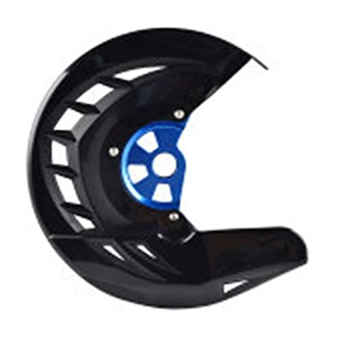 zis Protector de disco de freno delantero GAURD FIT for HUSQVARNA TE FE 125 250 300 350 449 450 480 501 2014 2015 (Color : Black and Blue)