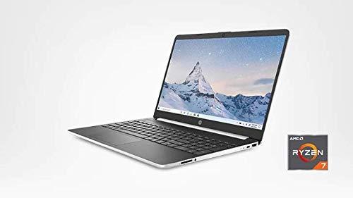 HP 15 Series 15.6-inch HD SVA Touchscreen Laptop, AMD Ryzen 7 3700U (Quad-Core) Up to 4.0GHz, 8GB DDR4, 256GB PCIe NVMe SSD, AMD Radeon RX Vega 10, Webcam, Bluetooth, WiFi, USB 3.1-C, HDMI, Windows 10