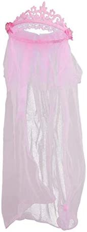 Cheap mail order specialty store tongchuang Delicate Flower Girl Veils Max 63% OFF Crown Two White Layers Wed