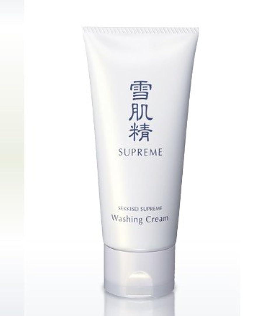 むしゃむしゃ印象的操作コーセー 雪肌精 シュープレム 洗顔 クリーム 140g