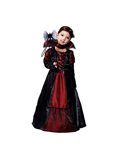 GBYAY Disfraz de Halloween para niños Vampiro Bruja Anime Cosplay Disfraces Carnaval Navidad niña niños niño niños Disfraces