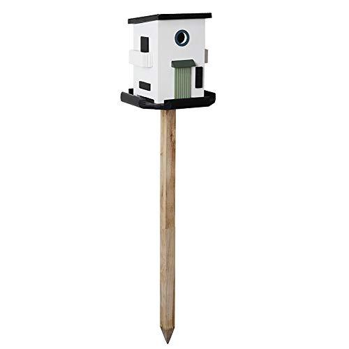YQY Vogelfutterspender, Holz-Vogel-Haus-Berg mit Shaped, Samen Nuss Feeder, Hängen für Garten-Yard-Dekoration,I