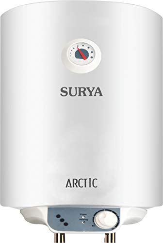 Surya Arctic Metal Body 25 L Geyser with 4 Star Rating (White,...