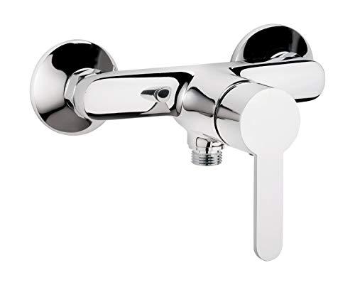 Calmwaters® - Original - Flache Einhand-Brausebatterie für die Dusche zur Aufputz-Wandmontage in Chrom - 11PZ2541