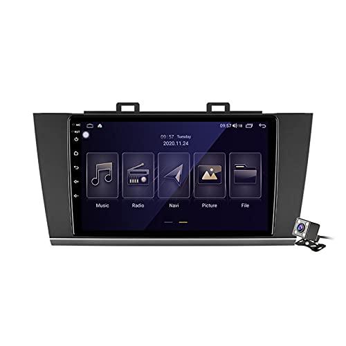 Buladala Android 11 Auto Audio Stereo GPS Navigatore con 9 Pollici Touch Screen per Subaru Outback 5 Legacy 6 2014-2018, Supporto FM RDS DSP Radio/BT Steering Wheel Control/Carplay,M100s