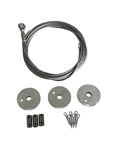PanelLift 02-16 Replacement Cable and Sheaves, Steel