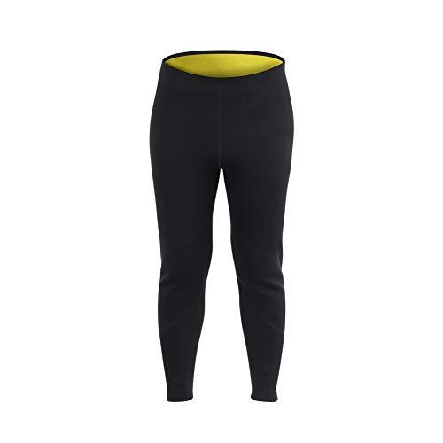 Alomejor Sauna Schweißhose Neopren Männer Frauen Fitness Abnehmen Sauna Legging Hose Hot Sweat Körperform(XXXL)