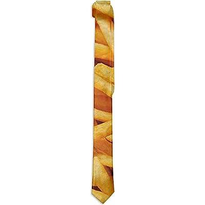 NA Cravates de fantaisie, accessoire de costume Cravates en frites de cravates en soie de mode cravates fantaisie cravates pour hommes adolescents